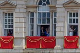 during Trooping the Colour {iptcyear4}, The Queen's Birthday Parade at Horse Guards Parade, Westminster, London, 9 June 2018, 13:01.